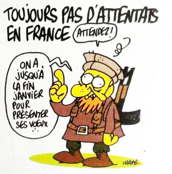 L'ultime caricature de Charb, une bien triste prémonition