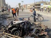 Trois voitures  piégées explosent à Samarra en Irak