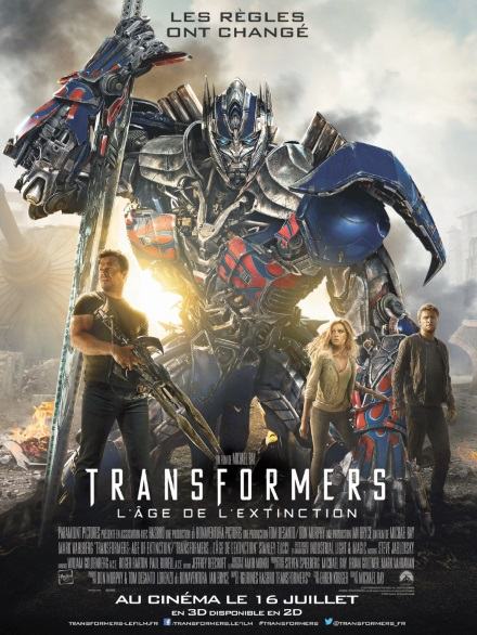 """Transformers"" favori  des Razzie Awards"