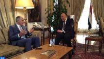 Sameh Choukri réitère le soutien  de l'Egypte au Plan d'autonomie