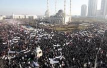 Grozny capitale mondiale  de la contestation anti-Charlie