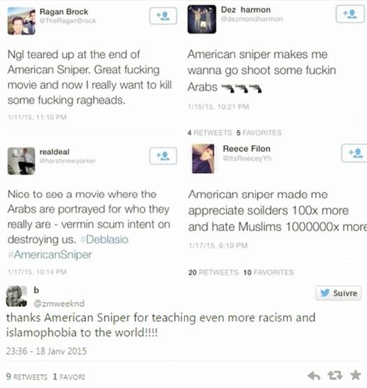 «American Sniper» déclenche des tensions islamophobes accrues aux Etats-Unis