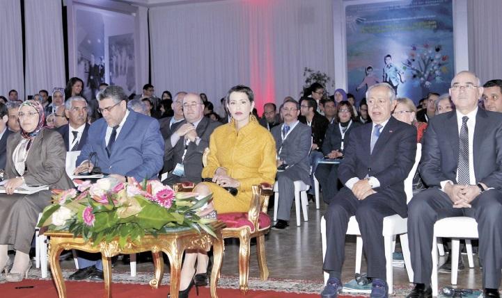 S.A.R la Princesse Lalla Meryem préside la rencontre pour la consolidation des mécanismes de protection des enfants