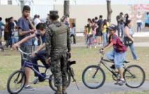 Face à la violence au Honduras, une oasis de toboggans et de balançoires