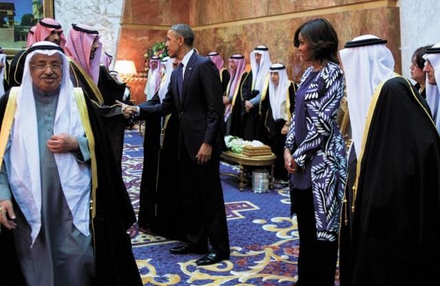 Michelle Obama non-voilée choque l'Arabie Saoudite