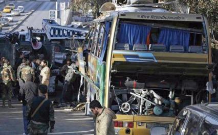 Neuf morts dans un attentat contre un bus de pèlerins libanais à Damas