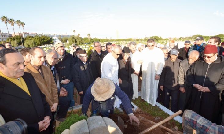 Emouvantes funérailles de Mohamed Mansour