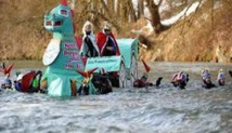 Insolite : Course dans le Danube