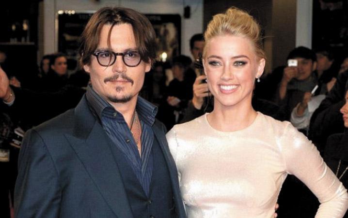 Johnny Depp et Amber Heard convolent en justes noces