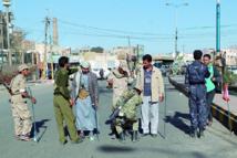 Les miliciens chiites houthistes  défendent leur coup de force