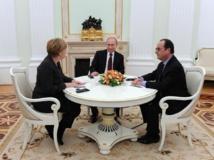 Initiative de paix de Hollande et Merkel en Ukraine