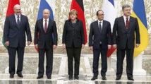 Un accord de cessez-le-feu en Ukraine arrachés à Minsk