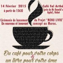"""Lancement à Rabat de la première édition du projet """"Menu livre"""""""