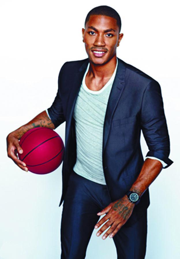 Top 20 des sportifs les mieux payés en 2014 : Derrick Rose USA (Basketball)