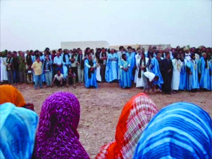 Hémorragie fatale au sein du Polisario