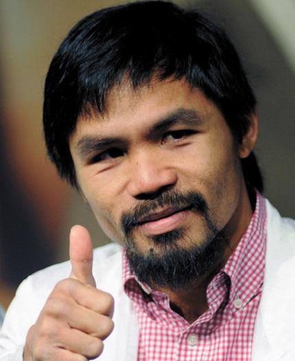 Top 20 des sportifs les mieux payés en 2014 : Manny Pacquiao Philippines (Boxe)