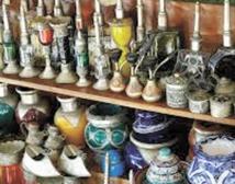Une exposition de produits  d'artisanat marocain en Virginie