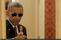 Insolite : Obama se lâche
