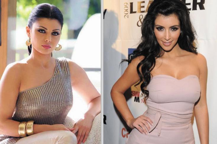 Haifa Wehbe sur les pas de Kim Kardashian!