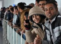 Environ 15.000  Egyptiens ont fui la Libye en huit jours