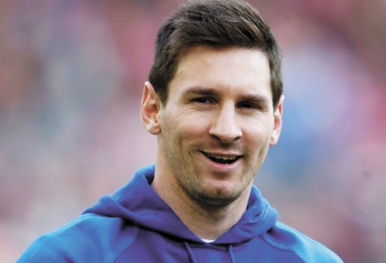 Top 20 des sportifs les mieux payés en 2014 :  Lionel Messi Argentine (Football)
