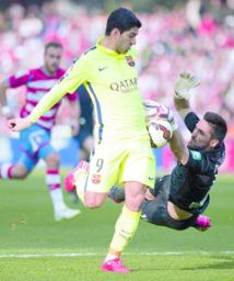 Le Barça solide grâce à l'axe Rakitic-Suarez