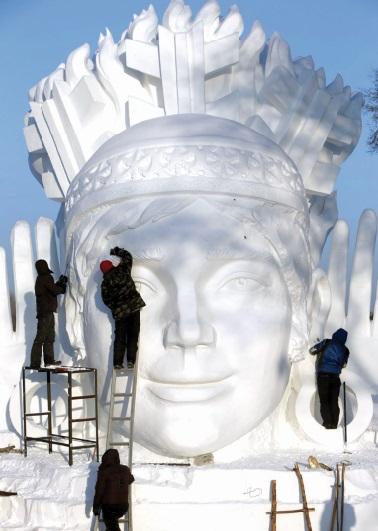 Les festivals à voir une fois dans sa vie : Festival international de sculpture sur glace et sur neige de Harbin