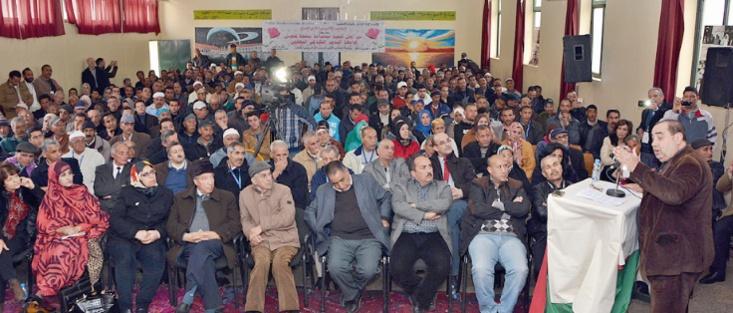 Driss Lachguar : Le véritable Ittihadi est un militant  de terrain et non celui qui se contente d'avoir sa carte d'adhérent