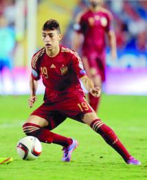 Del Bosque: El Haddadi n'a pas  su s'imposer pour mériter  de porter les couleurs de la Roja