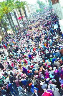 Succès éclatant de la Marche pour l'égalité  et la démocratie
