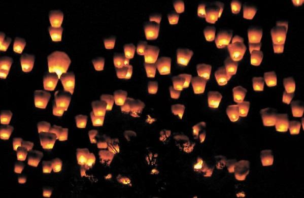 Les festivals à voir une fois dans sa vie : Festival des lanternes Pingxi Sky (Taïwan)