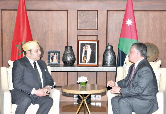 Le Souverain jordanien en visite  au Maroc à partir d'aujourd'hui