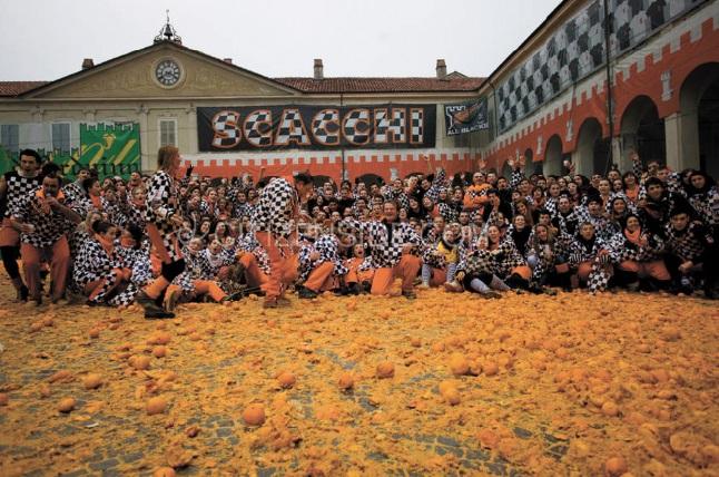 Les festivals à voir une fois dans sa vie : Bataille des Oranges (Italie)