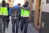 Arrestation de huit membres d'une cellule jihadiste en Espagne