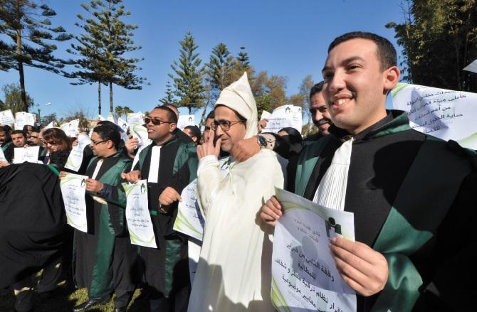 Les magistrats s'insurgent contre les réformettes et les offenses de Ramid