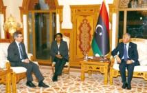 L'émissaire de l'ONU pour  la Libye à Tobrouk et à Tripoli