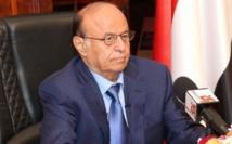 Le président yéménite Hadi exhorte l'ONU à faire stopper l'avancée des Houthis
