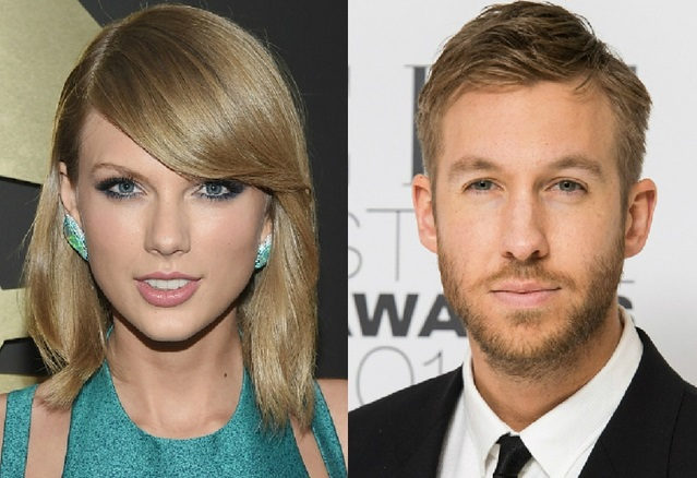 ​Taylor Swift  en relation avec Calvin Harris
