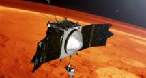 La Nasa détecte de mystérieux nuages  de poussière dans la haute atmosphère martienne