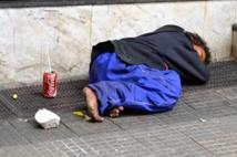 Les enfants des rues marocains squattent le port de Mellilia