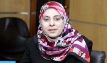 Soumia Benkhaldoun doit beaucoup aux militantes féminines