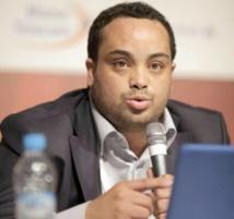 Yassine Bezzaz coordinateur de  l'Institut Prometheus pour la démocratie  et les droits humains