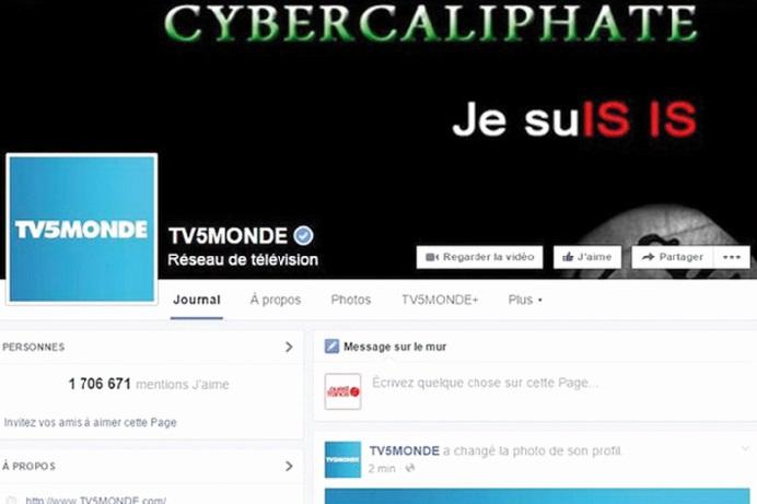 TV5 Monde piratée par des cyber-jihadistes se réclamant de Daech