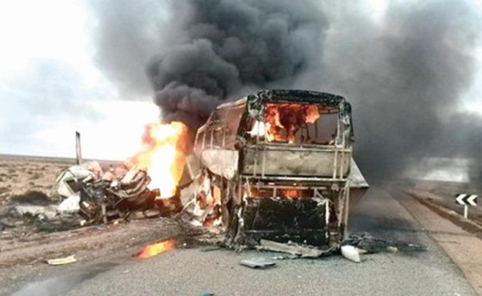 La tragédie : Une trentaine de morts dans un accident de la circulation entre Tan Tan et Laâyoune