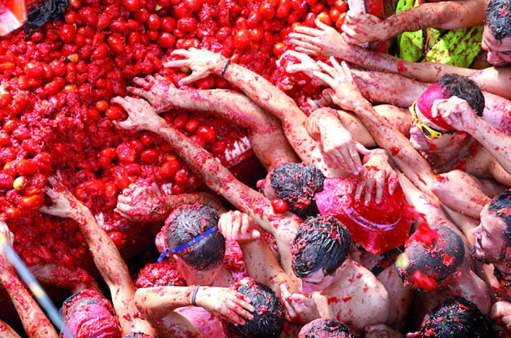 Les festivals à voir une fois dans sa vie : La tomatina (Espagne)
