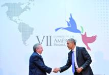 Face-à-face historique entre Barack Obama et Raul Castro au Sommet des Amériques de Panama