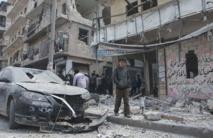 L'armée de l'air syrienne bombarde la population civile aux barils d'explosifs