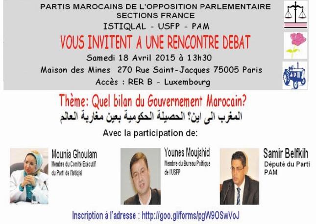 Quel bilan du gouvernement marocain ?