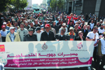 Les militants de la FDT, de l'UGTM et de l'ODT battent le pavé pour dénoncer la politique antisociale du gouvernement