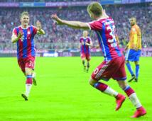 Le Bayern a une main sur le titre